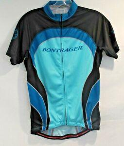 Bontrager Women's Cycling Top L Blue/Black Race Lite WSD SS Jersey