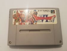 Dragon Quest VI / 6 Super Famicom SNES Version Japonesa
