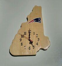 New Hampshire State Patriots  wood quartz wall clock/ logo new