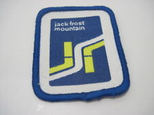 OLD PATCH JACK FROST MOUNTAIN SKI RESORT MOUNTAINS SOUVENIR WINTER SPORT
