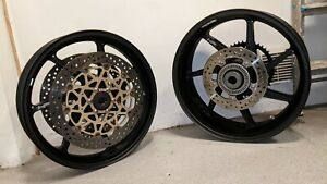 BMW S1000RR HP Forged Wheels with discs abs rings and sprocket carrier