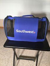 New listing Southwest Airline Pet Carrier Tsa Approved Swa Travel Bag Dog Cat Packs Flat Euc