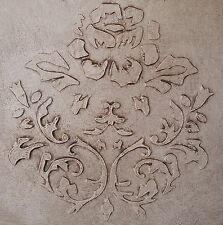 BUY NOW Wall Stencil, Plaster Stencil, Furniture Stencil, Rose Damask
