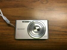 Sony Cyber-Shot DSC-W830 20.1MP Digital Camera - Silver