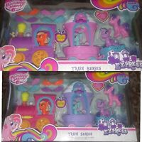 My Little Pony friendship express train series purple/pink
