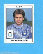 PANINI CALCIATORI 1989/90 -Figurina n.205- ORSI - LAZIO -Recuperata