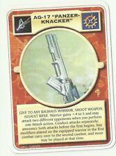 """MUTANT CHRONICLES DOOMTROOPER: AG-17 """"PANZERKNACKER"""" (INQ ENG)"""