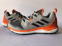 ADIDAS TERREX MENS SHOES AGRAVIC TRAIL RUNNING SHOE Grey Orange size 9
