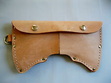 Cruiser Axe Sheath 2.5 lb. Double Bit Leather With D-Ring USA Made! #2