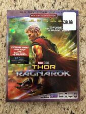 Thor: Ragnarok (Blu-ray/DVD, 2018, Includes Digital Copy) New Sealed Slipcover