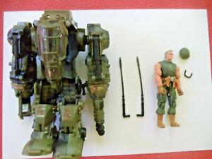 Defense Mech w/Leatherneck v5 G I Joe COMPLETE Valor vs Venom armor suit Marine