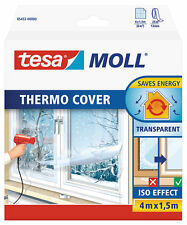 tesamoll Fensterisolierfolie thermo cover, transparent