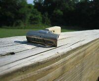 Beautiful Schick Injector Type I  White Handle Gold Tone SE Safety Razor
