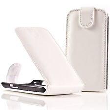 CASE COVER FLAP LEATHERETTE WHITE + FILM FOR SAMSUNG GALAXY NEXUS I9020