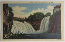 1959 Rainbow Falls Ausable Chasm New York Used Postcard (Inv3672)