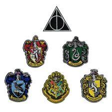 Harry Potter Aufnäher Gryffindor Hogwarts Slytherin Huffelpuff Ravenclaw D.Hollo