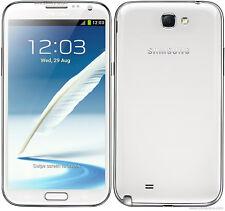Samsung Galaxy Note 2 GT-N7100 16GB Marble White (Unlocked) Android + gratis Geschenke