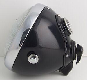 "Lucas SSU700 7"" Headlamp Bean Switch Ammeter for BSA Norton Classic Motorcycle"