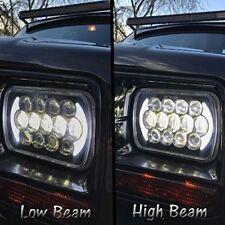 "105W 7""x6"" LED Headlight H4 Hi-Lo Beam Halo DRL For Jeep Cherokee XJ H6014/H6054"