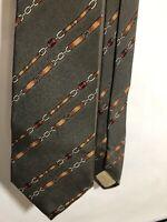 Vintage Gucci Tie Horsebit Gray IMPERFECT