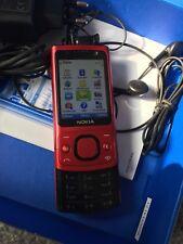 Nokia  Slide 6700 - Rot (Ohne Simlock) Smartphone