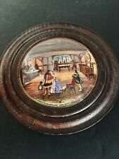 Prattware Lid ( Shakespeare's Birthplace)