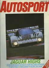 Autosport Jan 15th 1987 *World Sportscar Racing Review*