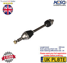 DRIVE SHAFT FITS FOR OPEL ASTRA G 1.7 1.8 1998-2005 LEFT HAND SIDE