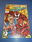 Web+of+Spider-man+%23101+Maximum+Carnage+Venom+FVF+Beauty+wow+