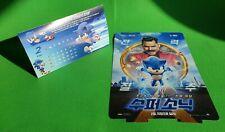 Sonic the Hedgehog 2020 Korean Mini Movie Posters Movie Flyers (Jeondangi)