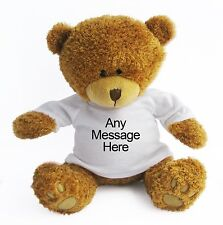 Personalised Teddy Bear (Large) -  Mother's Day Birthday- Wedding Gift