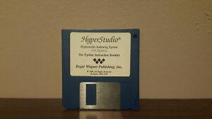 Hyperstudio hypermedia authoring system /HS.Update floppy