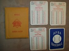 Original 1994 APBA Baseball cards complete