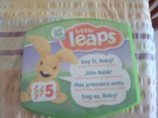 Leap Frog Interactive Little Leaps Game /Disc (Say It Baby) Baby / Prep Toy
