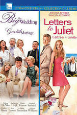 THE BIG WEDDING/LETTERS TO JULIET (NEW DVD)
