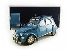 1/18 Citroën 2cv 6 Club 1982 - Lagune Bleu-norev181492