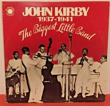 JOHN KIRBY 1937-1941 The Biggest Little Band 1978 SMITHSONIAN COLLECTION 2X LP