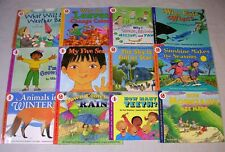 Lot 12 Let's Read and Find Out Science Non-Fiction Children's Books FREE SHIP