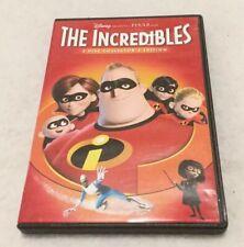 Disney Pixar The Incredibles DVD 2 Disc Collector's Edition 2005