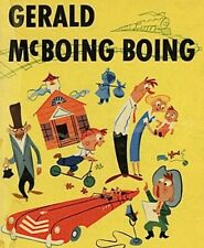 GERALD MCBOING BOING - 8mm Sound Color Film Movie 1950 UPA CARTOON Oscar Winner!