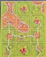 CARCASSONNE NEW EDITION SPARE TILES - REPLACE OR ADD NEW TILES - MINT CONDITION