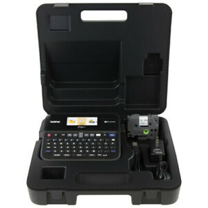 Brother Label Maker with Color Display and Carry Case PT-D600VP Label Maker with