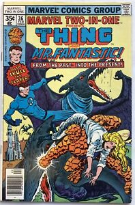 Marvel Two-In-One Vol 1 #36 (1978) The Thing & Mr Fantastic UK Pence Variant
