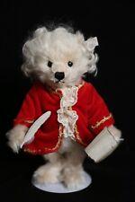 Steiff Musical Wind-Up Musical Mozart Teddy Bear Plush Toy Doll 656408