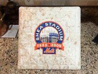 New York Mets 2008 Game Used Final Season Shea Stadium Tribute Baseball Base Bag
