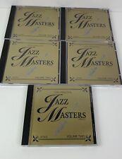 The Original Jazz Masters Series Vol. 2 (CD, Nov-1993, 5 Discs)