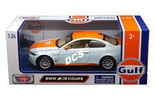 Motor Max BMW M3 Coupé Golfo Petróleo 1/24 Escala Coche de Metal Modelo 79644