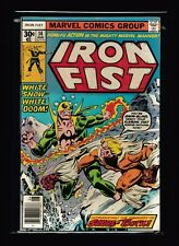 Iron Fist #14 (VF/NM) - 1st appearance of Sabretooth - X-Men - Wolverine