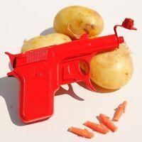 Retro Metal Die Cast Potato Spud Gun Water Pistol Toy Gun Dressing Costume NEW