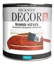 Hickson Décor Woodstain 5LT All colours available ( Sent as 2x2.5LT)